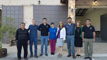 Director of World Olive Center visit Governor's Olive Mill