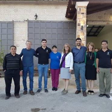Director of World Olive Center visit Governor's Olive Mill
