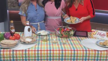 The Governor at FOX59 News cooking show