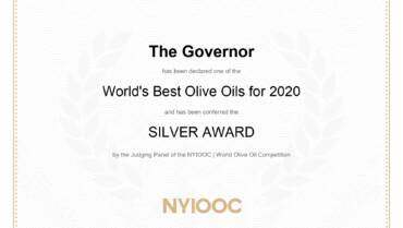 World best olive oils for 2020 – Silver Award