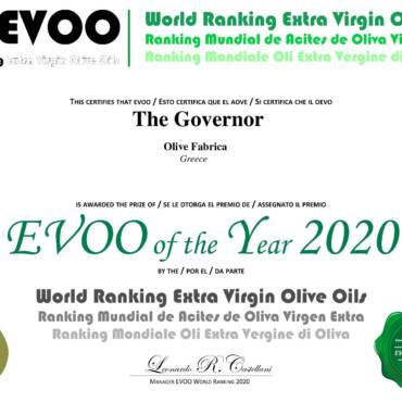 EVOO of the Year 2020